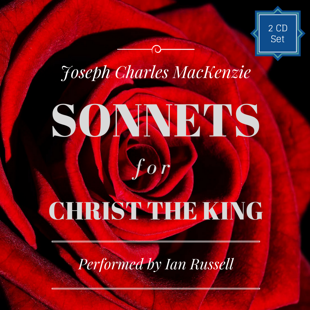Audiobook Cover Sonnets for Christ the King