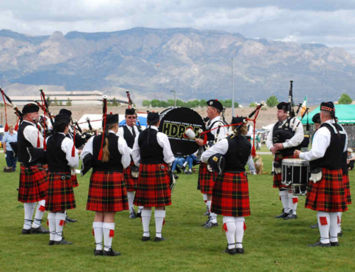 Ode to the Great Highland Pipes