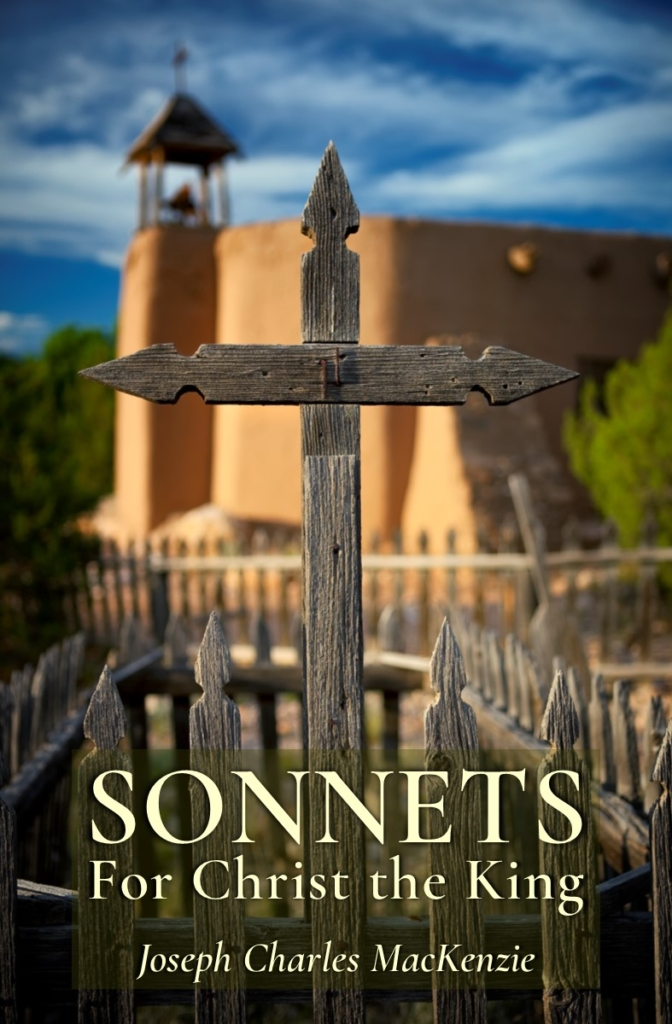 Book Cover Sonnets for Christ the King
