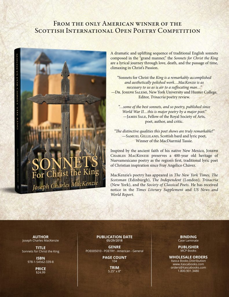 Sell Sheet Sonnets for Christ the King (JPG)
