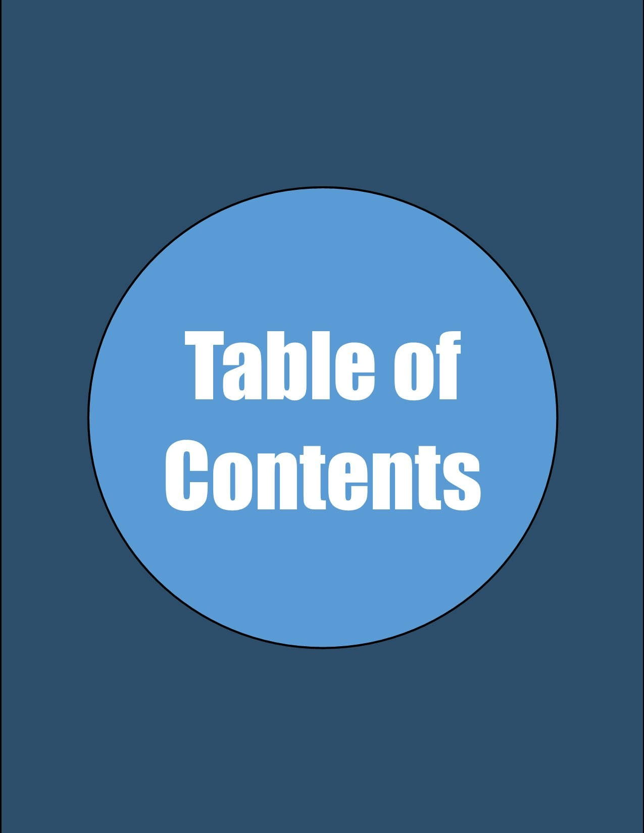 Sonnets for Christ the King Table of Contents