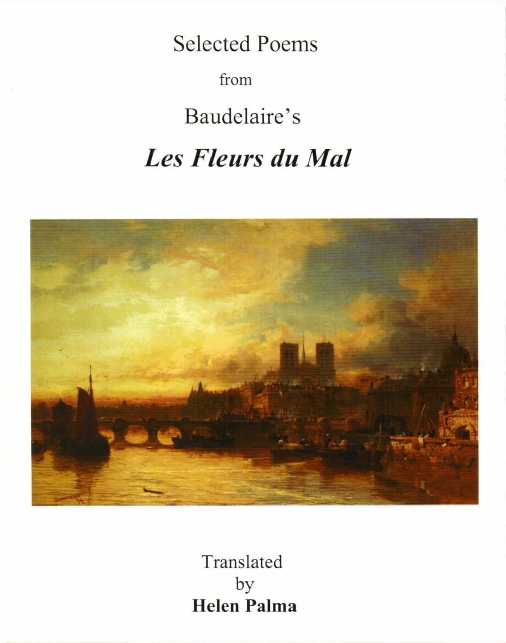 Review Of Helen Palma S Selected Poems From Baudelaire S Les Fleur
