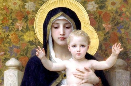 William-Adolphe Bouguereau - Madonna