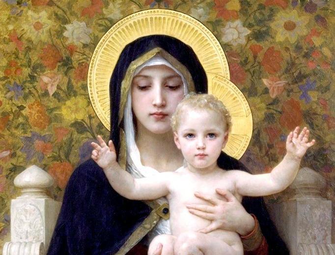 William-Adolphe Bouguereau - Madonna