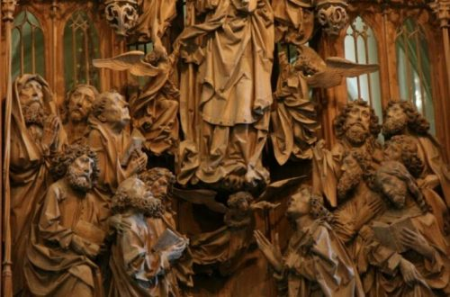 Creglingen Altarpiece - Assumption of the Virgin 2