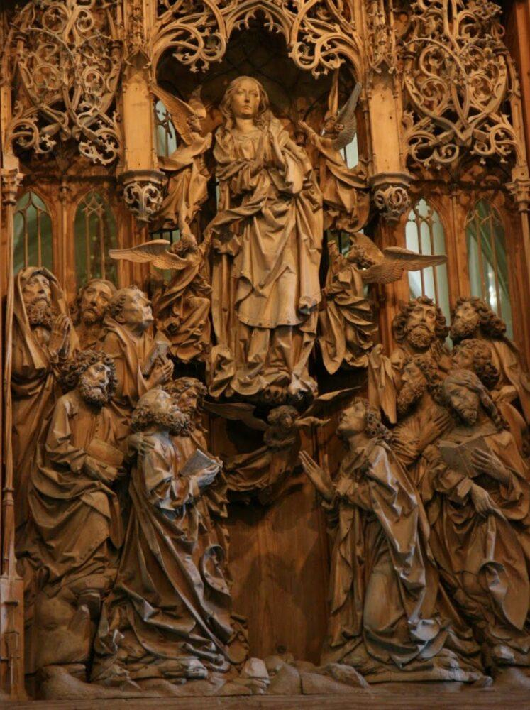 Creglingen Altarpiece - Assumption of the Virgin 2