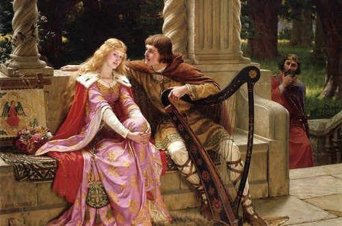 Lord Leighton - Tristan and Isolde - 1902