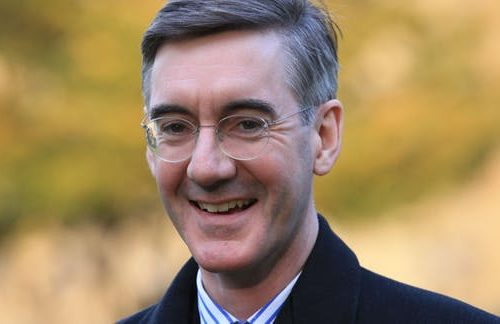Jacob Rees-Mogg Smiling