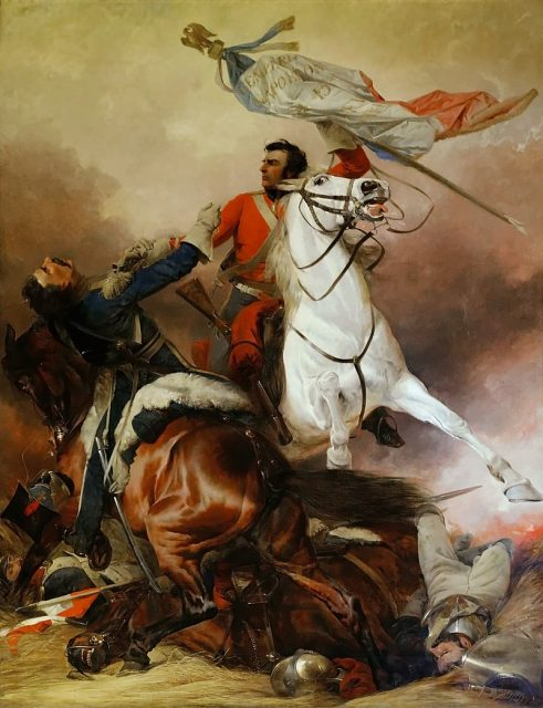 Royal Scots Greys at Waterloo