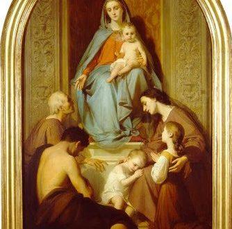 Consolatrix Afflictorum - Nicolo Barbarino