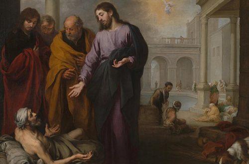 Curacion del Paralitico - Murillo - 1670