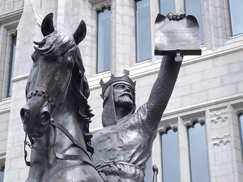 Robert the Bruce Statue Aberdeen